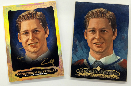 2013-14-NHL-Ultimate-Collection-Upper-Deck-Signature-Masterpieces-Nathan-MacKinnon
