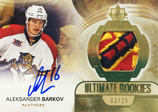 2013-14-NHL-Upper-Deck-Ultimate-Collection-Autograph-Rookies-Patch-Aleksander-Barkov
