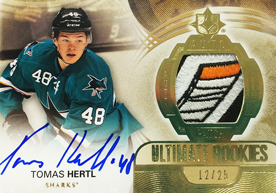 2013-14-NHL-Upper-Deck-Ultimate-Collection-Autograph-Rookies-Tomas-Hertl