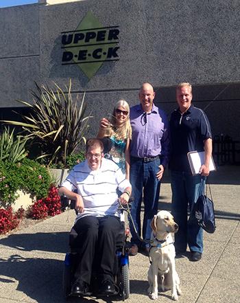 2014-15-NHL-MVP-Canine-Companions-Visit-Upper-Deck-Headquarters-Veren-Bistline