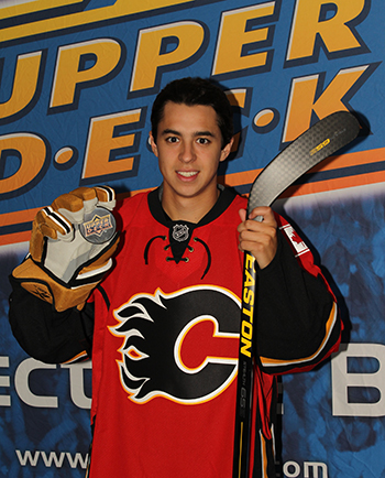 2014-NHLPA-Rookie-Showcase-Game-Upper-Deck-Photo-Shoot-Johnny-Gaudreau