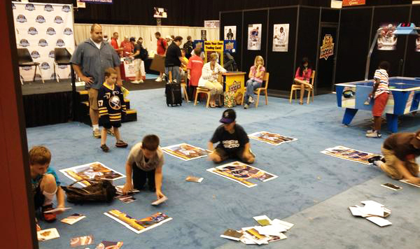 2014-National-Sports-Collectors-Convention-Upper-Deck-Kids-Children-Games-Fun-Engagement-2