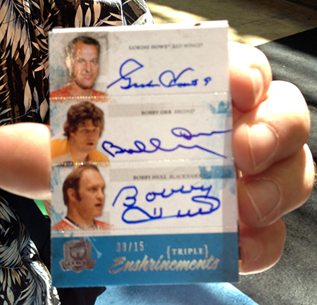 2014-National-Sports-Collectors-Convention-Upper-Deck-NHL-Exclusive-Triple-Autograph-Orr-Howe-Hull