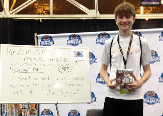 2014-National-Sports-Collectors-Convention-Upper-Deck-Random-Acts-of-Kindness-UDRAK-Scavenger-Hunt