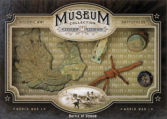 2014-Upper-Deck-Goodwin-Champions-Museum-Collection-World-War-I-WWI-Artifacts-Battle-of-Verdun