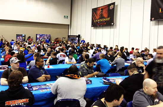 Gen-Con-Indy-Upper-Deck-Legendary-Deck-Building-Game-National-Championship-10k-Packed-Tables-7
