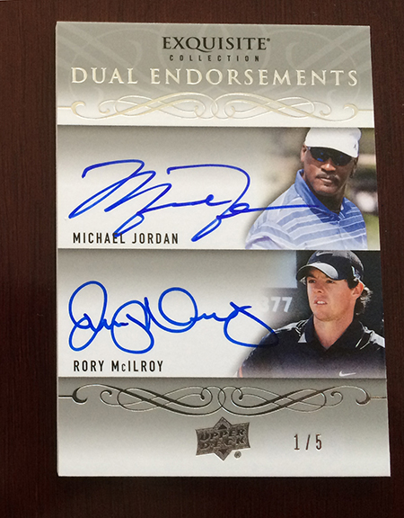 2014-Exquisite-Collection-Golf-Dual-Autograph-Endoresements-Rory-McIlroy-Michael-Jordan