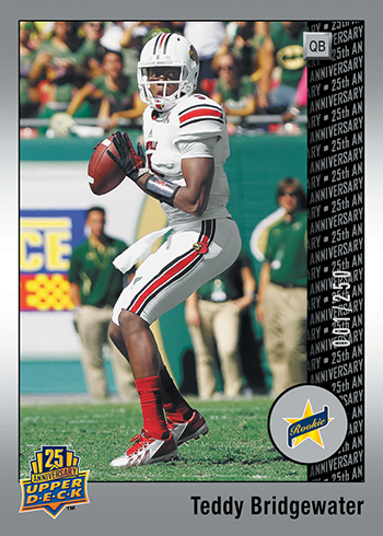 2014-Upper-Deck-25th-Anniversary-Set-Rookie-Teddy-Bridgewater
