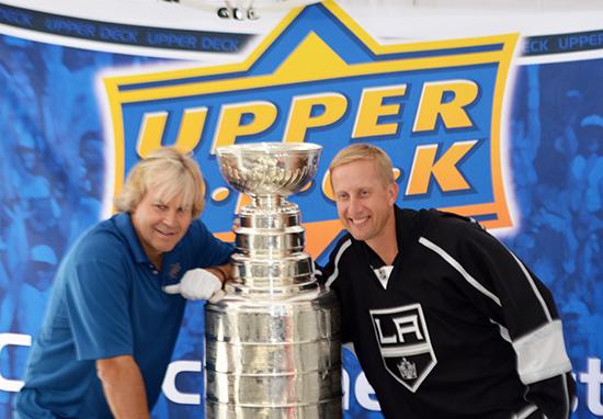 2014-Upper-Deck-Stanley-Cup-San-Diego-Visit-Keeper-Phil-Pritchard-Employee-Benefits-Perk-2