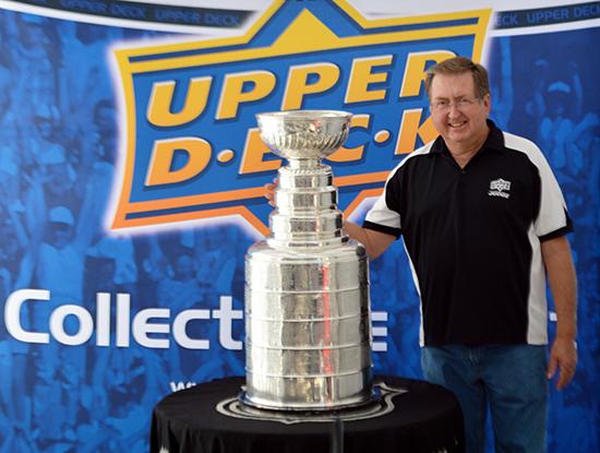2014-Upper-Deck-Stanley-Cup-San-Diego-Visit-Keeper-Phil-Pritchard-Employee-Benefits-Perk-4