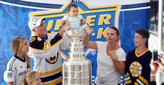 2014-Upper-Deck-Stanley-Cup-San-Diego-Visit-Keeper-Phil-Pritchard-Employee-Benefits-Perk-5