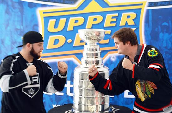 2014-Upper-Deck-Stanley-Cup-San-Diego-Visit-Keeper-Phil-Pritchard-Employee-Benefits-Perk-7