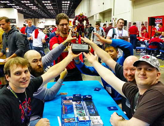 GenCon-Indy-Marvel-Legendary-Villains-10k-Tournament-Deck-Building-Game-Iron-Man-Trophy