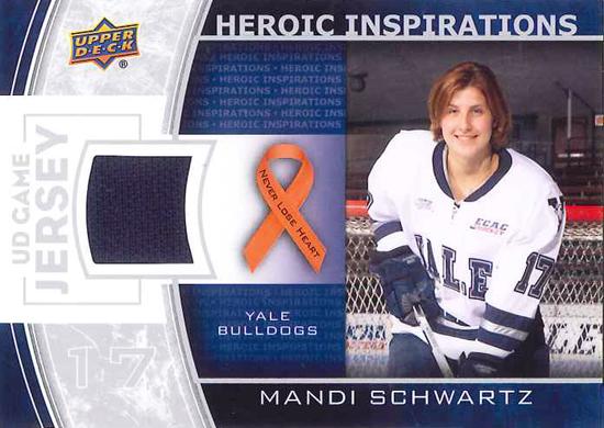 Heroic-Inspirations-Mandi-Schwartz-2013-14-NHL-UD1-Front