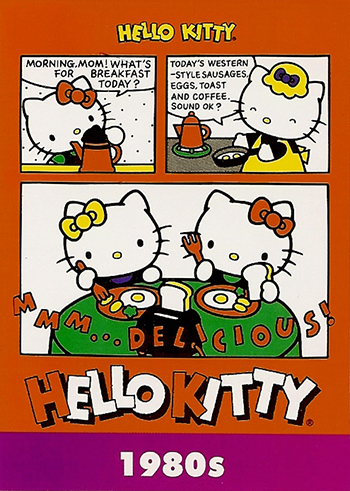 Upper-Deck-Sanrio-Hello-Kitty-40th-Anniversary-Fun-Packs-Collectibles-Decade-1980s