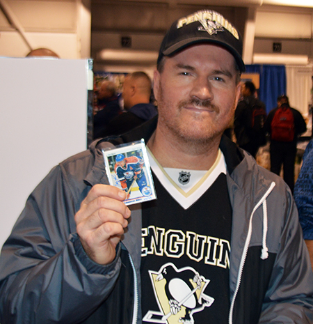 2014-Fall-Sportscard-Memorabilia-Expo-Upper-Deck-Booth-Big-Pull-Jari-Kurri-Autograph-Buyback