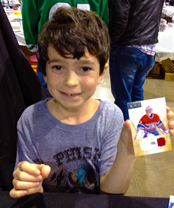 2014-Fall-Sportscard-Memorabilia-Expo-Upper-Deck-Kids-Youth-Carey-Price-Auto-Jersey