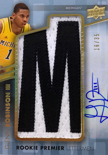 2014-15-Upper-Deck-Letterman-Basketball-Rookie-Autograph-Glenn-Robinson-III