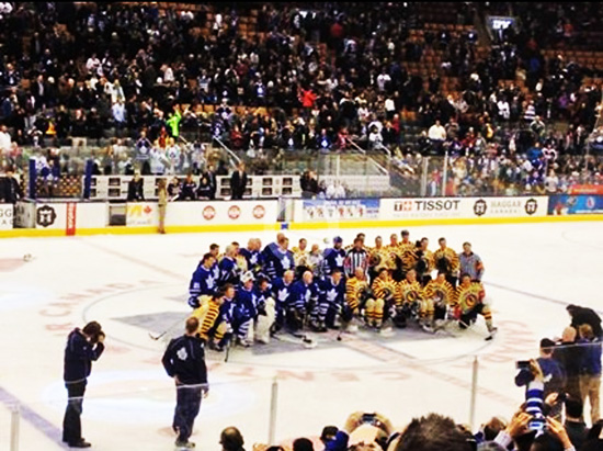 2014-Hockey-Hall-of-Fame-Enshrinement-Ceremony-Legends-Classic-Group