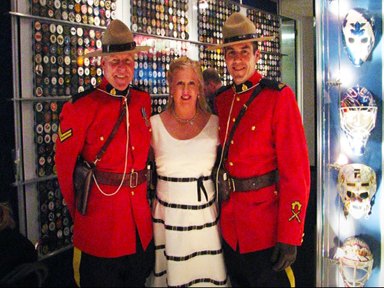 2014-Hockey-Hall-of-Fame-Enshrinement-Ceremony-Mounties