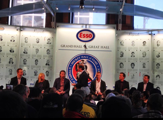 2014-Hockey-Hall-of-Fame-Enshrinement-Fan-Forum