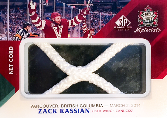2014-NHL-Heritage-Classic-Zack-Kassian-Net-Cord-SP-Game-Used