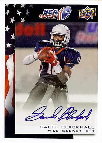 2014-Upper-Deck-USA-Football-Autograph-Saeed-Blacknall