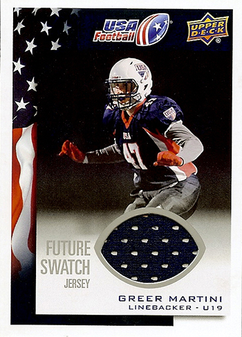 2014-Upper-Deck-USA-Football-Future-Swatch-Jersey-Greer-Martini