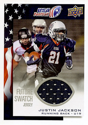 2014-Upper-Deck-USA-Football-Future-Swatch-Jersey-Justin-Jackson