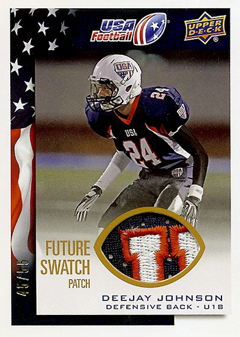 2014-Upper-Deck-USA-Football-Future-Swatch-Patch-Deejay-Johnson