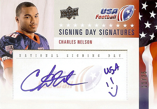 2014-Upper-Deck-USA-Football-Signing-Day-Signatures-Charles-Nelson