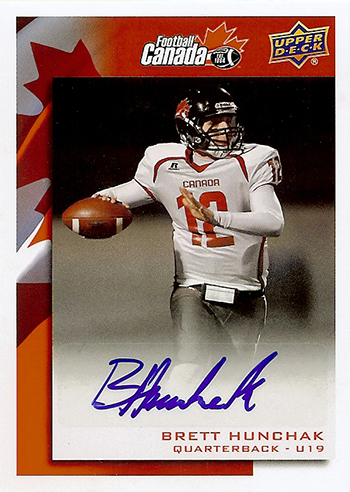2014-Upper-Deck-USA-Football-Team-Canada-Autograph-Brett-Hunchak