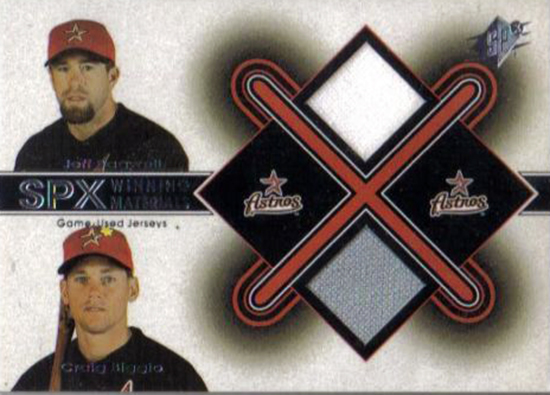 2015-Baseball-Hall-of-Fame-Craig-Biggio-Houston-Upper-Deck-SPx-Bagwell-Jersey-Card