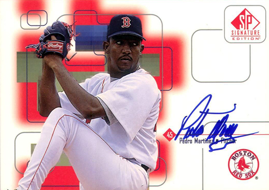 2015-Baseball-Hall-of-Fame-Pedro-Martinez-Boston-SP-Signature-Edition-Autograph-Card