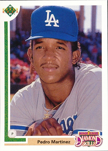 2015-Baseball-Hall-of-Fame-Pedro-Martinez-Los-Angeles-Dodgers-Rookie-Card