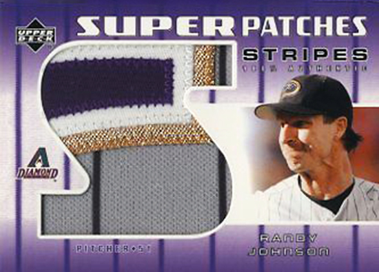 2015-Baseball-Hall-of-Fame-Randy-Johnson-Upper-Deck-Super-Patch-Card