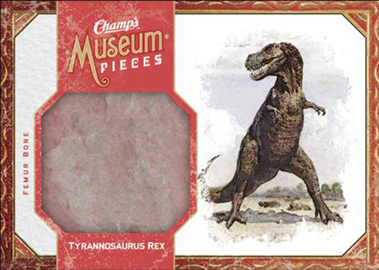 2009-10-Upper-Deck-Champs-NHL-Fossil-Tyrannosaurus-Rex