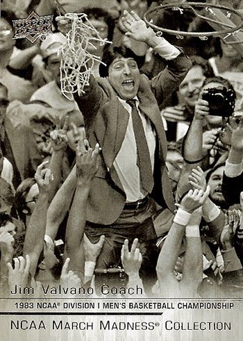2014-15-NCAA-March-Madness-Collection-Basketball-Jim-Valvano-Base-Card