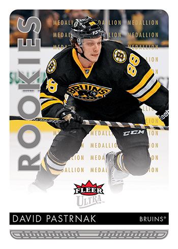 2014-15-NHL-Upper-Deck-Rookie-Redemption-Fleer-Ultra-David-Pastrnak