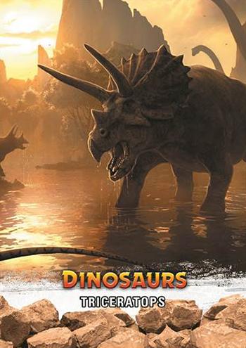 2015-Upper-Deck-Dinosaurs-Base-Card-Triceratops