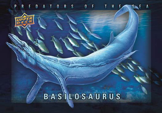 2015-Upper-Deck-Dinosaurs-Shadowbox-Predators-of-the-Sea-Basilosaurus