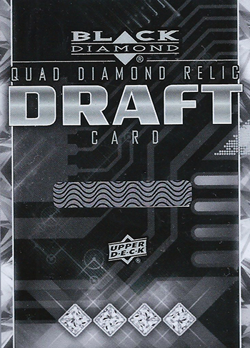 2014-15-NHL-Black-Diamond-Rookie-Redemption-Quad-Gems-Exchange-Card