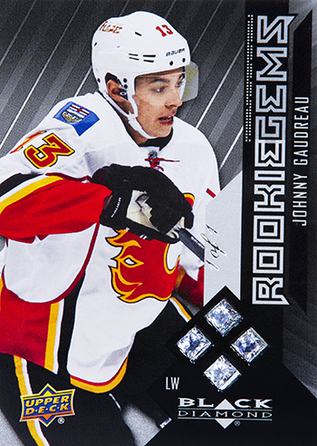 2014-15-NHL-Black-Diamond-Rookie-Redemption-Quad-Gems-Johnny-Gaudreau