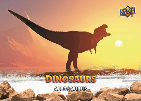 2015-Upper-Deck-Dinosaurs-Base-Card-Allosaurus