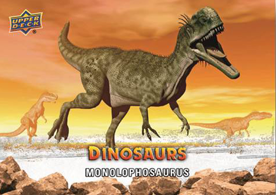 2015-Upper-Deck-Dinosaurs-Base-Card-Monolophosaurus