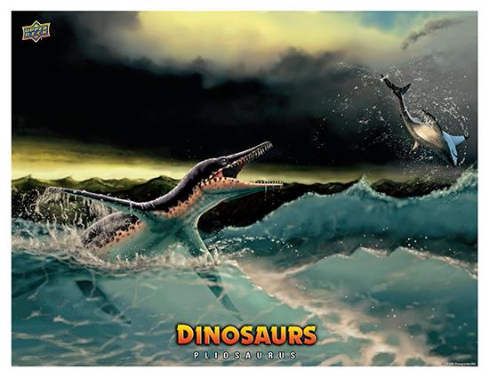Dinosaur Mini Posters Pliosaurus
