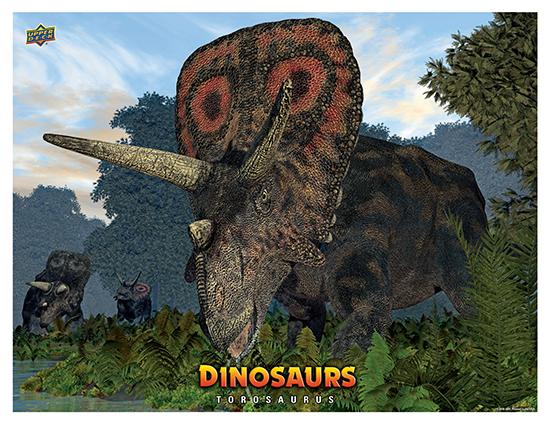Dinosaur Mini Posters Torosaurus