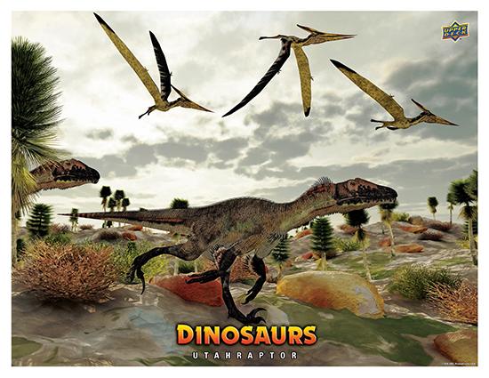 Dinosaur Mini Posters Utahraptor