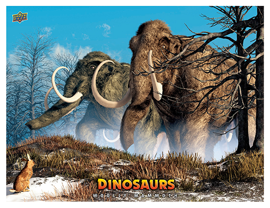 Dinosaur Mini Posters WoollyMammoth