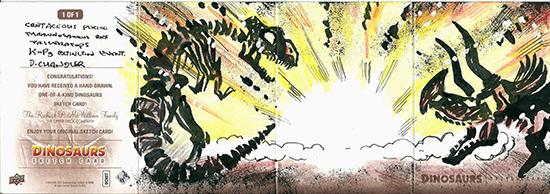 2015-Upper-Deck-Dinosaurs-Sketch-Cards-Darren-Chandler-Outside